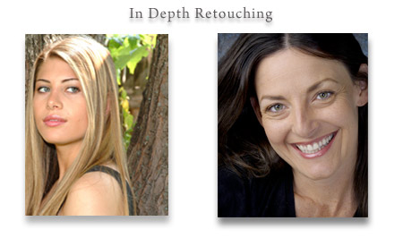 In Depth Retouching